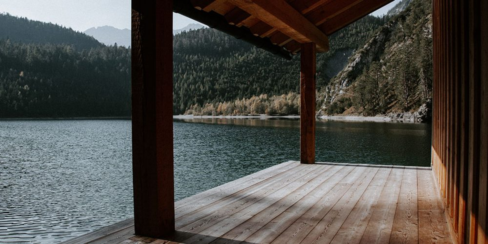 Deck by the lake